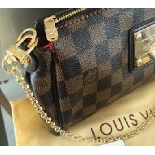 8dcb6e2ba Bolsa Louis Vuitton - Eva Clutch Damier Azur | Stanford Center for ...