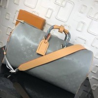 MALA LOUIS VUITTON KEEPALL MONOGRAM TITANIUM