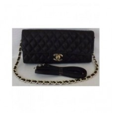 BOLSA CARTEIRA CHANEL CHAIN FLAP CLUTCH