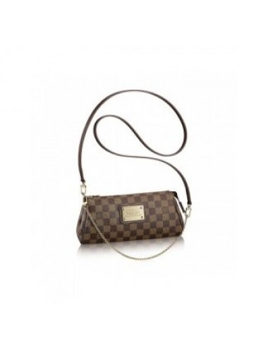 BOLSA LOUIS VUITTON EVA CLUTCH DAMIER EBENE