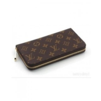 CARTEIRA LOUIS VUITTON 1 ZÍPER MONOGRAM