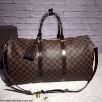 MALA LOUIS VUITTON KEEPALL 60 DAMIER EBENE